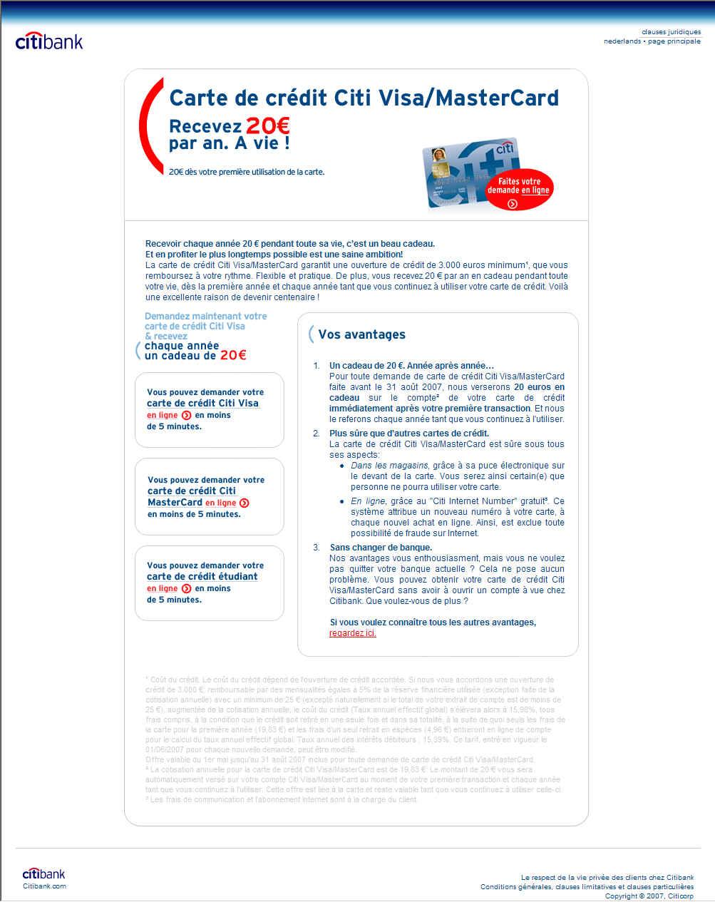 Citibank Belgium